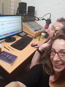 Photo of Sunny Side Up Presenters in the studio