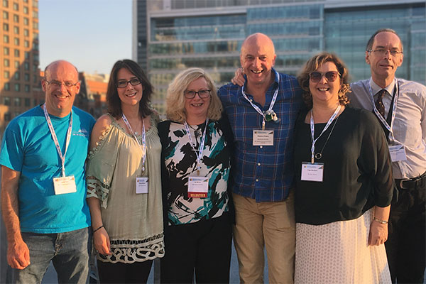 group of MAPP students from Bucks New University at IPPA conference Montreal